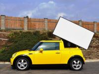 MINI Cooper Billboard mobilny reklama